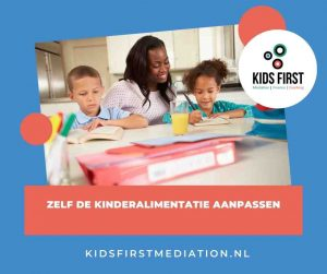 Zelf de kinderalimentatie aanpassen