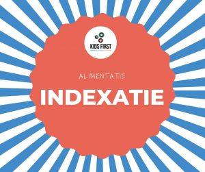indexatie alimentatie 2021