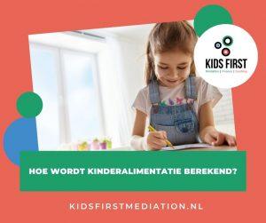 Hoe wordt kinderalimentatie berekend?